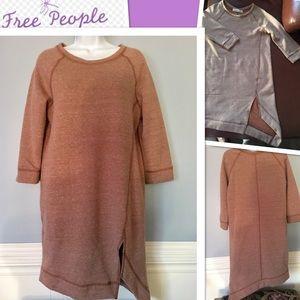NWOT 🌼Free people sweatshirt dress🌼